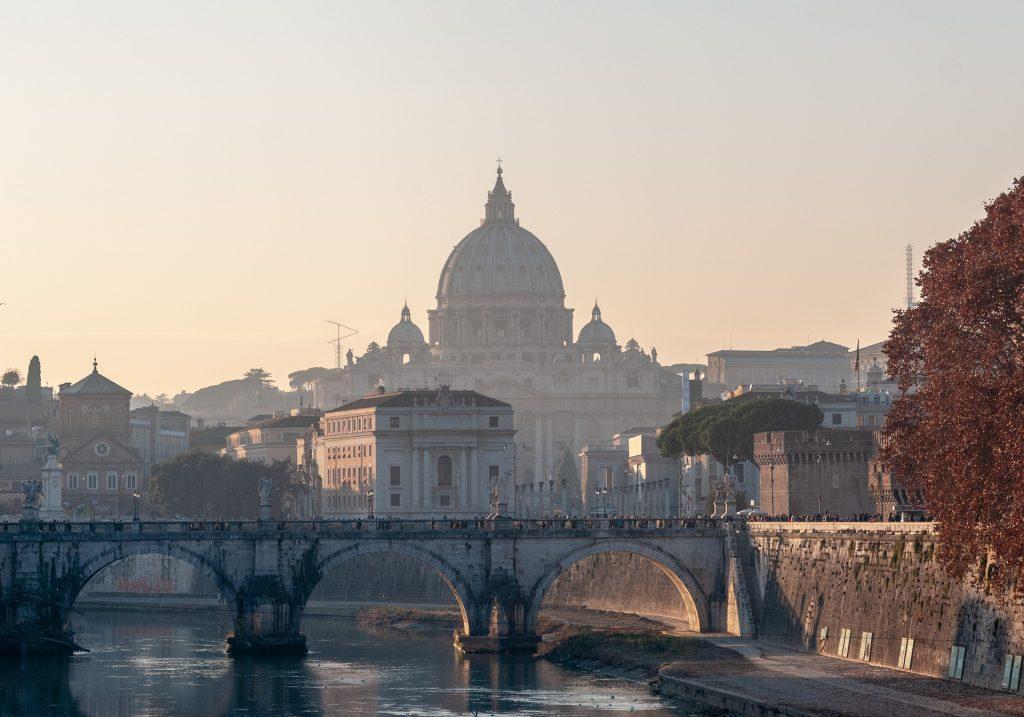 vatican city in Rome Italy